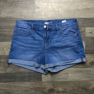 Old Navy, size 8, jean shorts